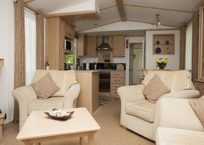 Hafod Caravan living room